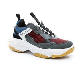 Calvin Klein Erkek Gri Spor Ayakkabı
