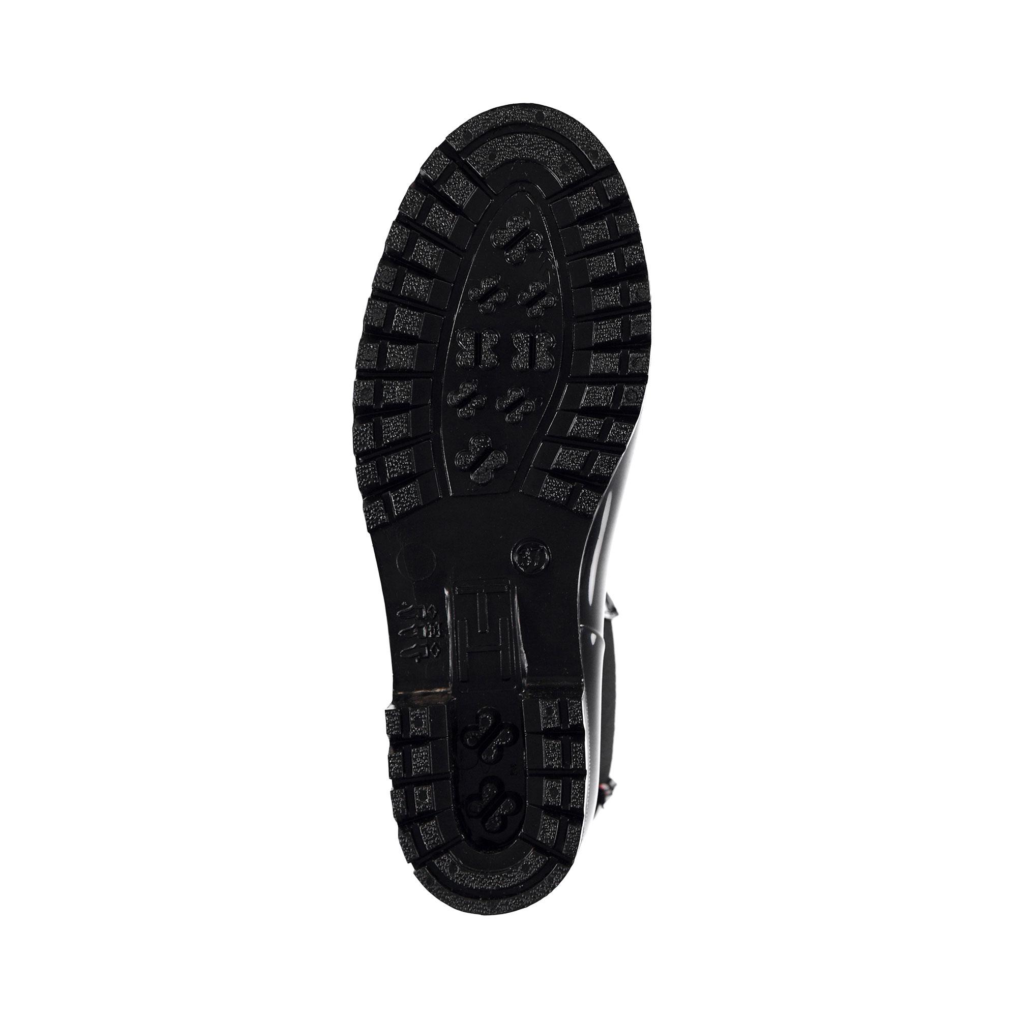 Tommy Hilfiger Corporate Belt Kadın Siyah Yağmur Botu