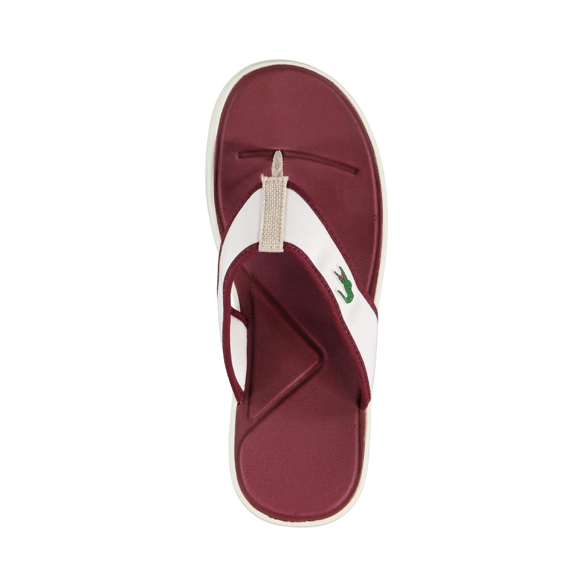 Lacoste L.30 Sandal Erkek Kırmızı Terlik