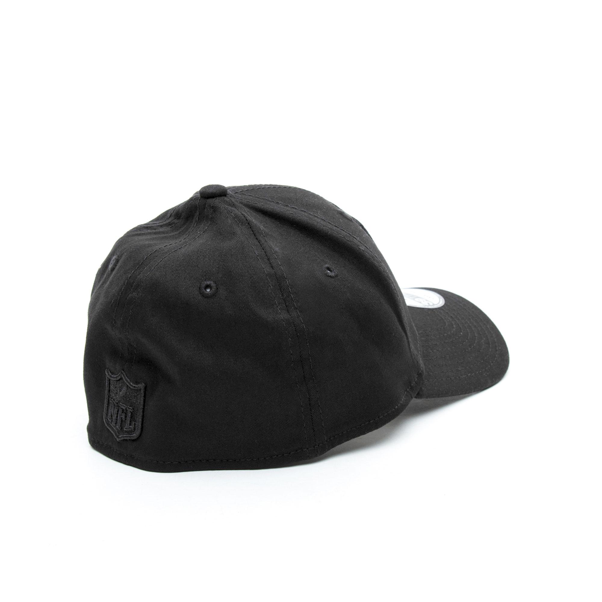 New Era 39Thirty Oakland Raiders Unisex Siyah Şapka