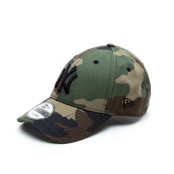 New Era 9Forty New York Yankees League Unisex Camo Yeşil Şapka