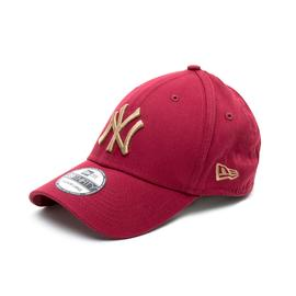 New Era York Yankees Essential Red 39Thirty Unisex Bordo Şapka