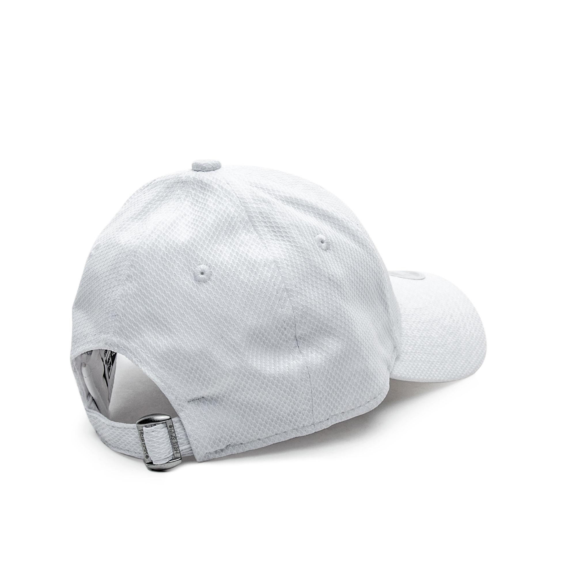 New Era Unisex Beyaz Şapka