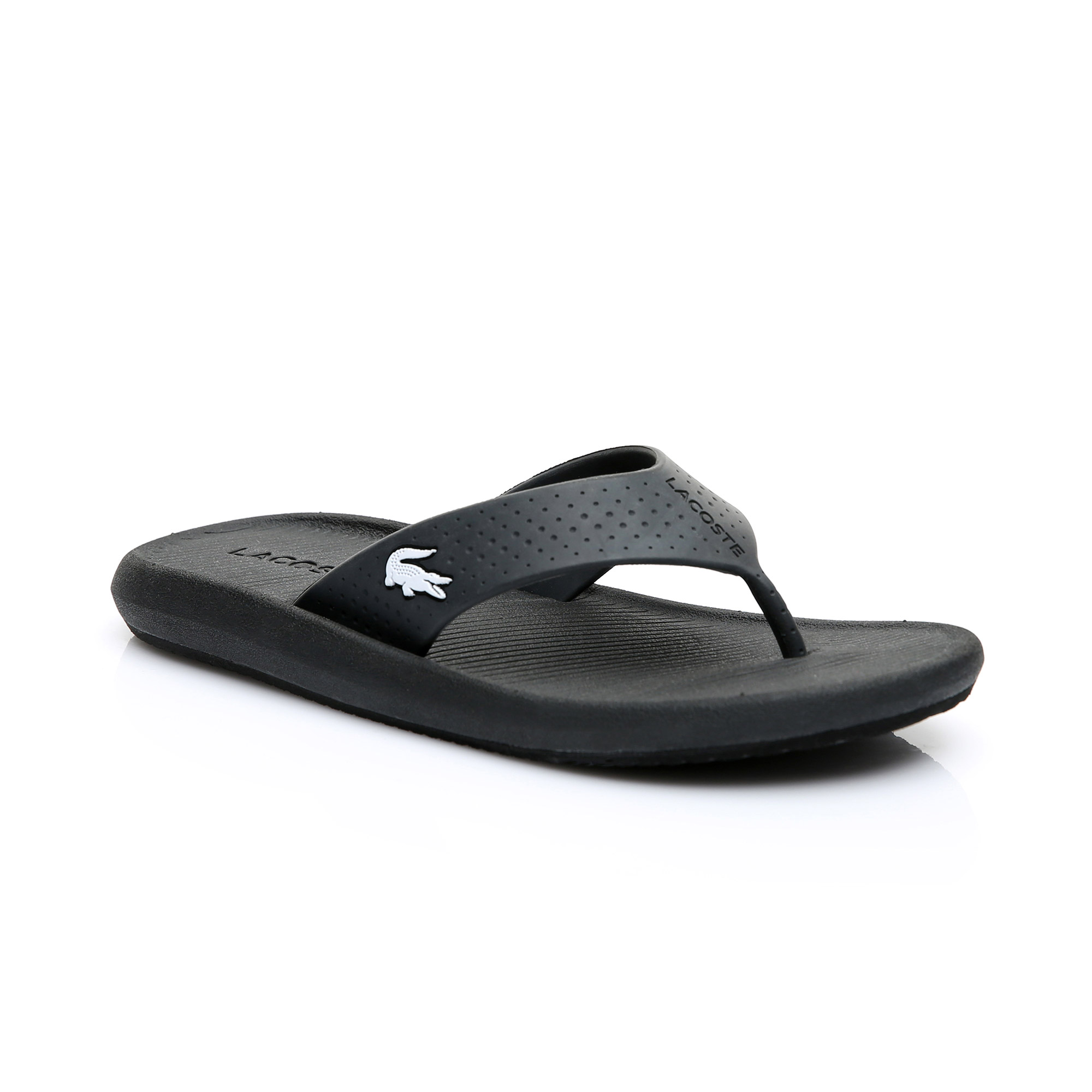 869298a03 Lacoste Kadın Siyah - Beyaz Croco Sandal 219 1 Casual Ayakkabı Kadin ...