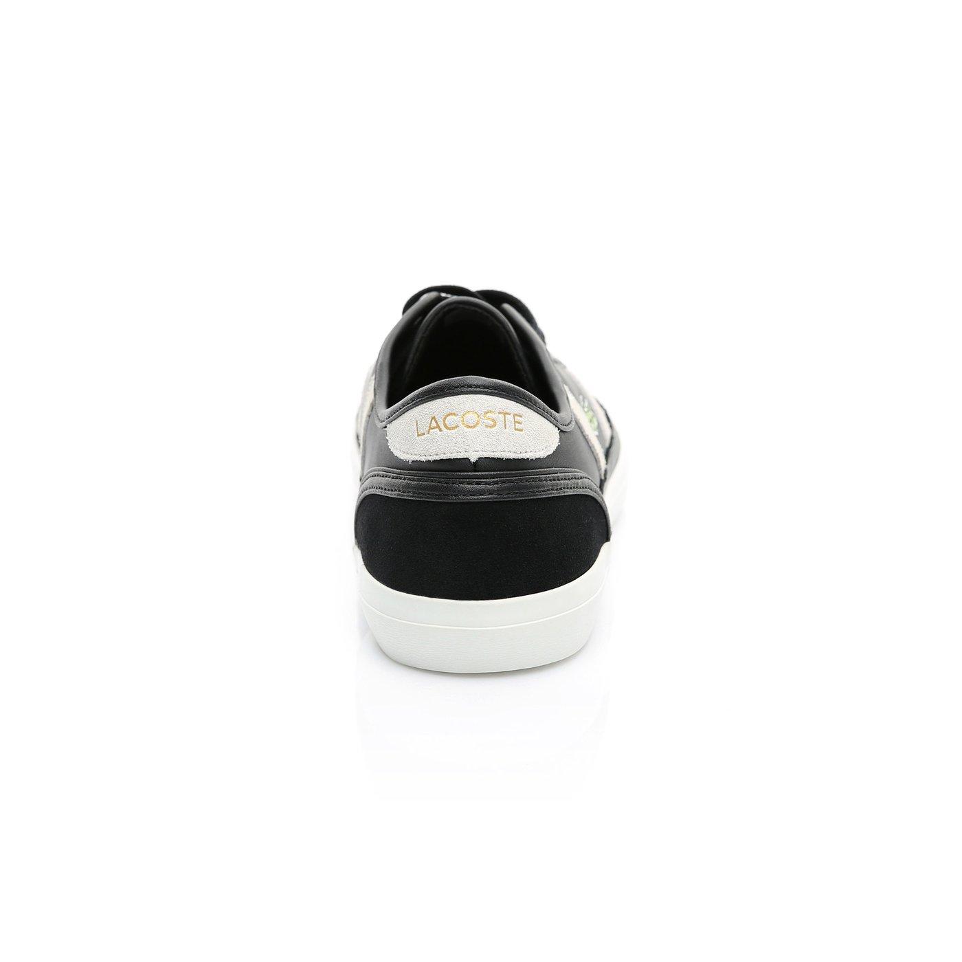 Lacoste Erkek Siyah - Bej Sideline 119 3 Casual Ayakkabı