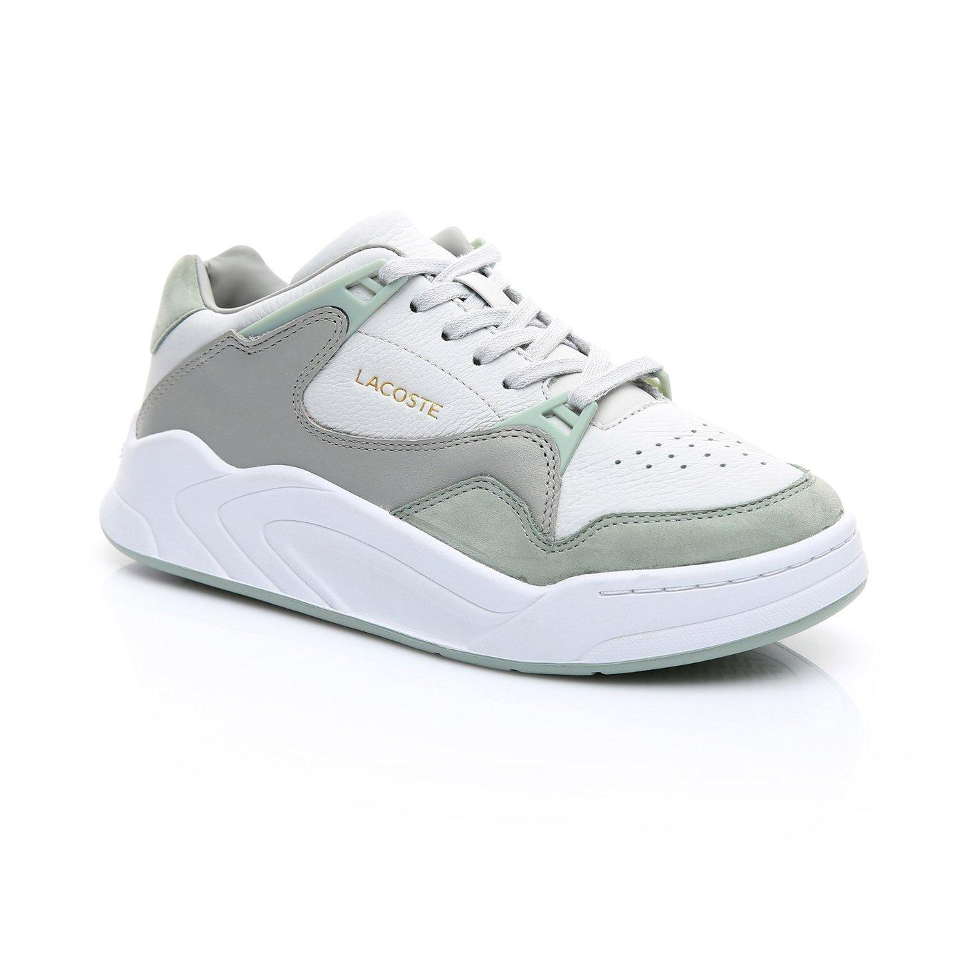Lacoste Kadın Açık Gri - Açık Yeşil Court Slam 219 1 Spor Ayakkabı