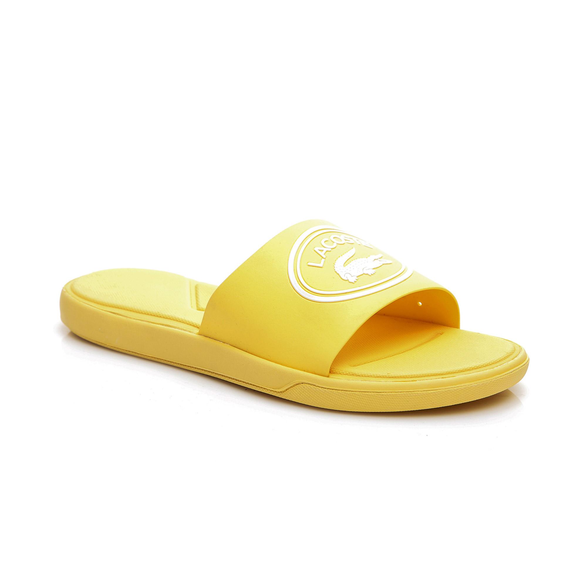 Lacoste Kadın Açık Sarı Terlik