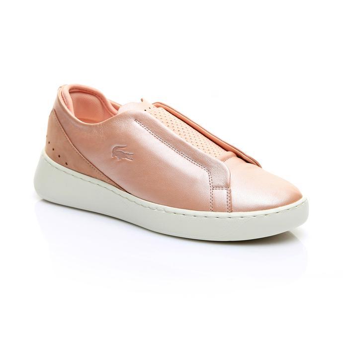 Lacoste Kadın Açık Pembe - Bej Eyyla Slip 119 1 Casual Ayakkabı