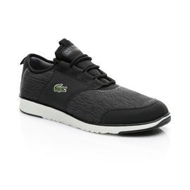 Lacoste Erkek Siyah - Bej L.ight Sock Lace 119 1 Spor Ayakkabı