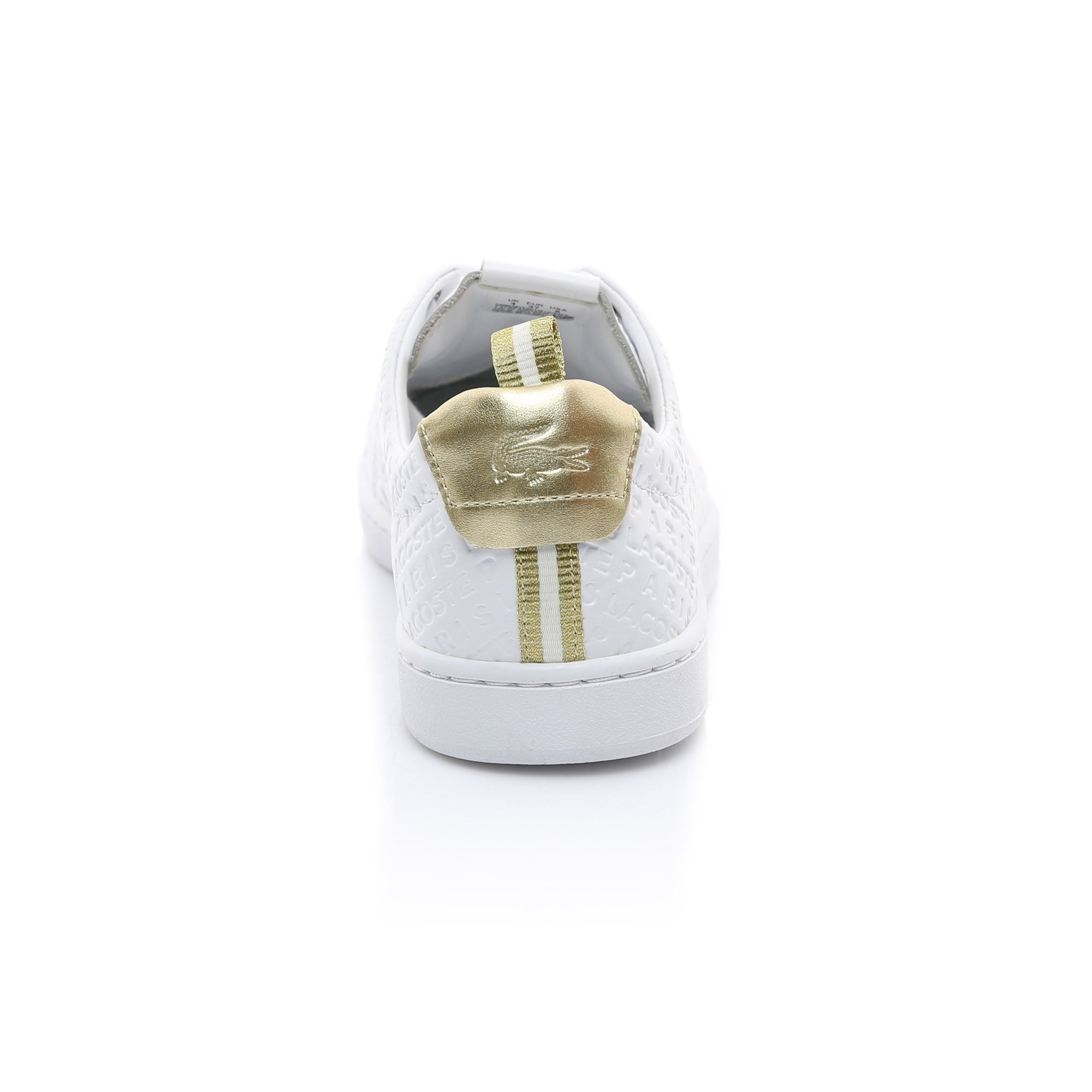 Lacoste Kadın Beyaz - Altın Carnaby Evo 119 11 Us Spor Ayakkabı