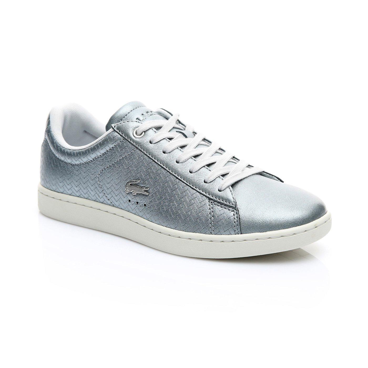 Lacoste Kadın Gümüş - Bej Carnaby Evo 119 9 Spor Ayakkabı