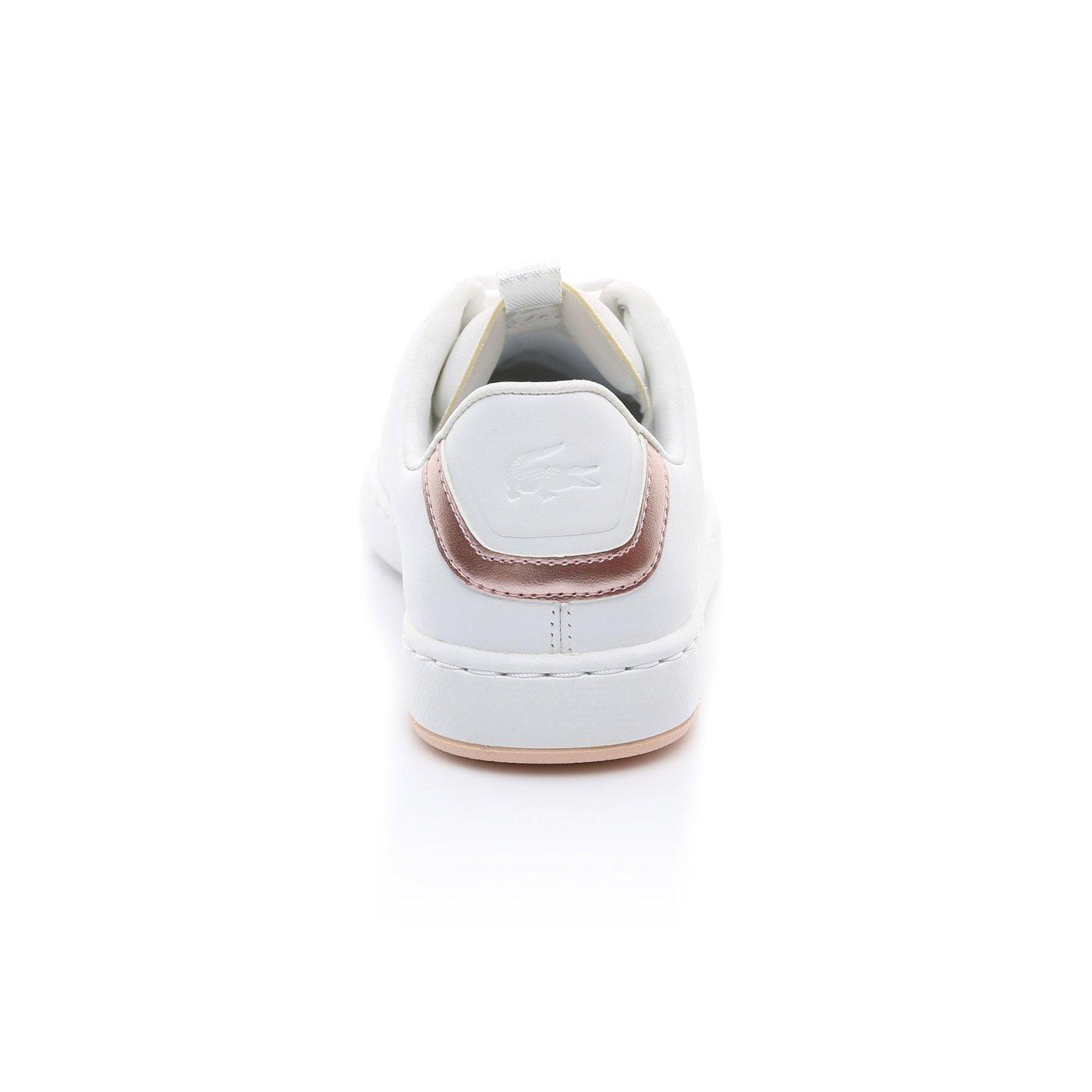 Lacoste Kadın Beyaz - Açık Pembe Carnaby Evo Light-Wt 1193 Spor Ayakkabı