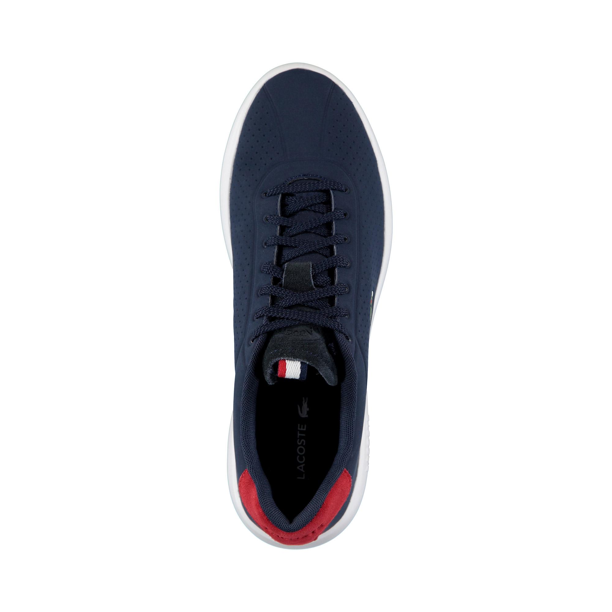 Lacoste Erkek Lacivert - Kırmızı - Beyaz Avance 119 1 Spor Ayakkabı