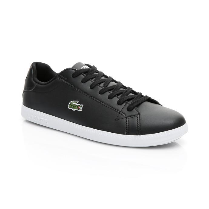 Lacoste Erkek Siyah - Beyaz Graduate BL 1 Spor Ayakkabı
