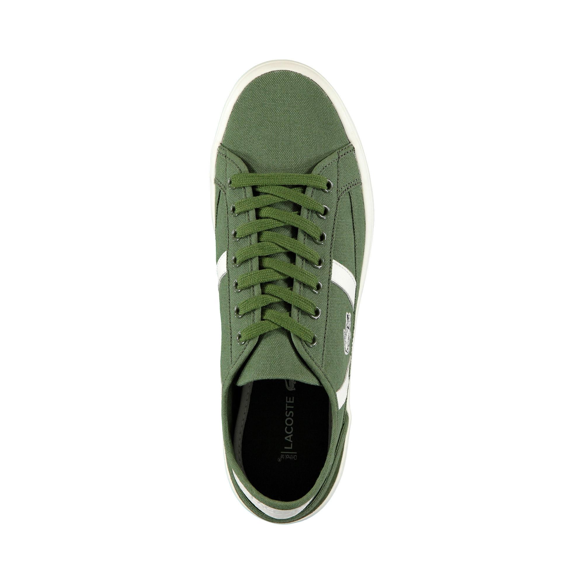Lacoste Erkek Haki - Bej Sideline 119 1 Casual Ayakkabı