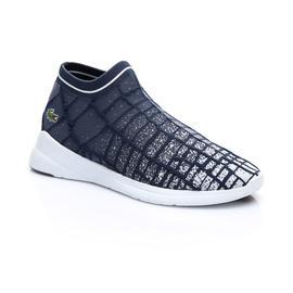 Lacoste Erkek Lacivert - Beyaz LT Fit Sock 119 2 Spor Ayakkabı