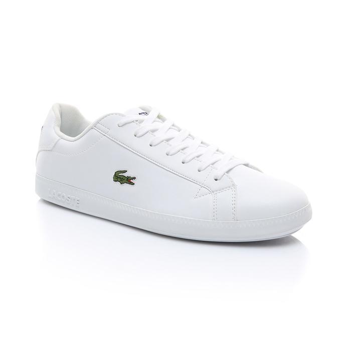 Lacoste Erkek Beyaz Graduate BL 1 Spor Ayakkabı