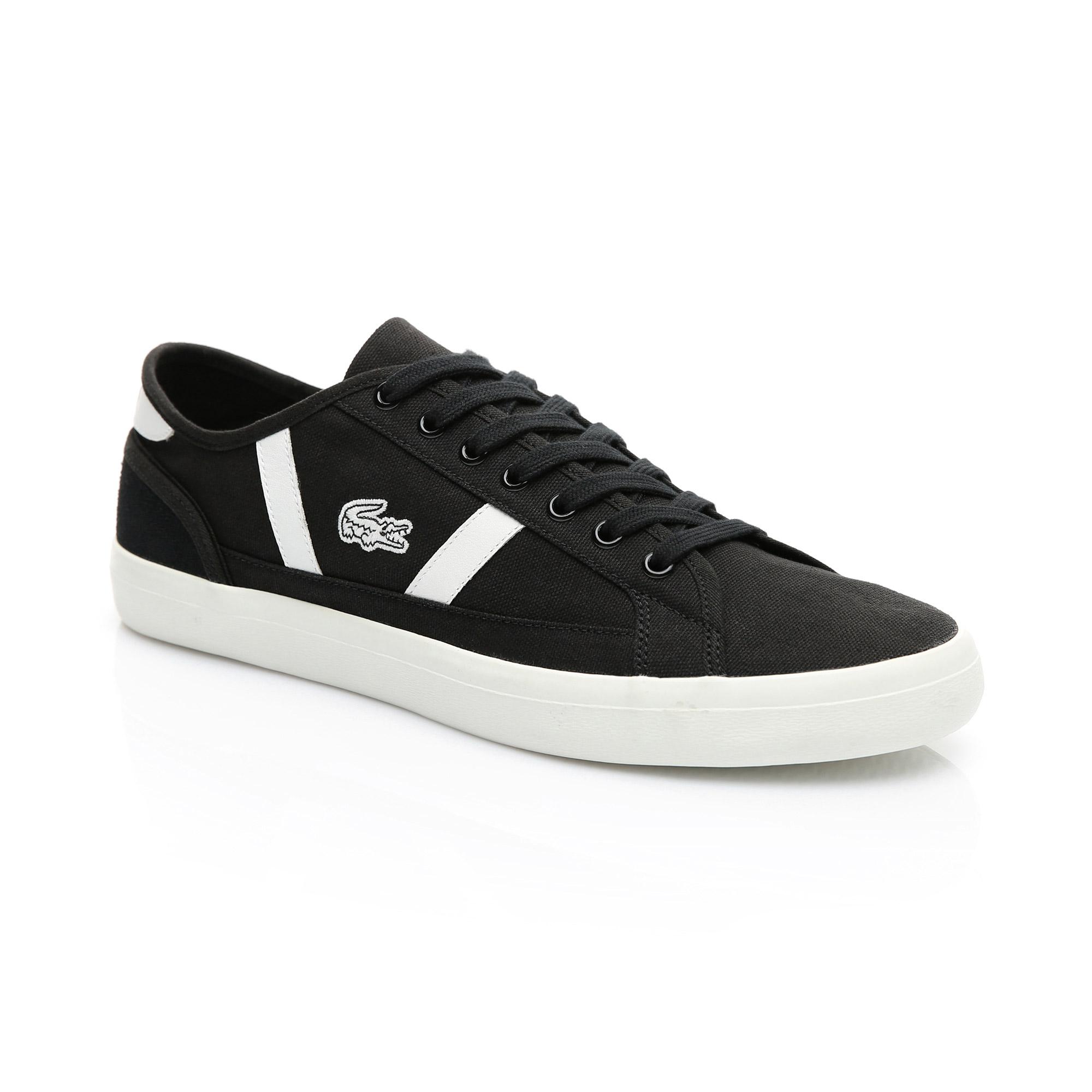 Lacoste Erkek Siyah - Bej Sideline 119 1 Casual Ayakkabı