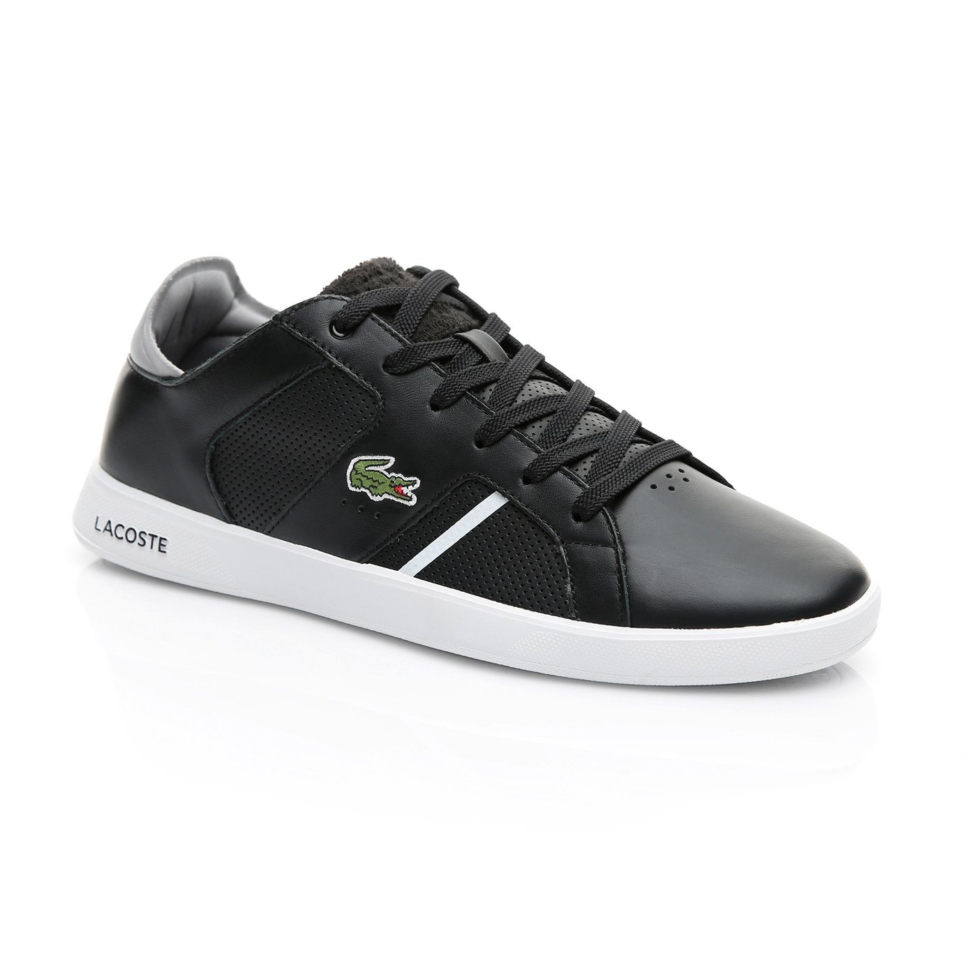 Lacoste Erkek Siyah - Gri Novas 119 1 Spor Ayakkabı