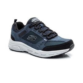 Skechers Oak Canyon Erkek Lacivert-Siyah Spor Ayakkabı