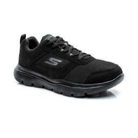 Skechers Go Walk Evolution Ultra-Enhan Erkek Siyah Spor Ayakkabı