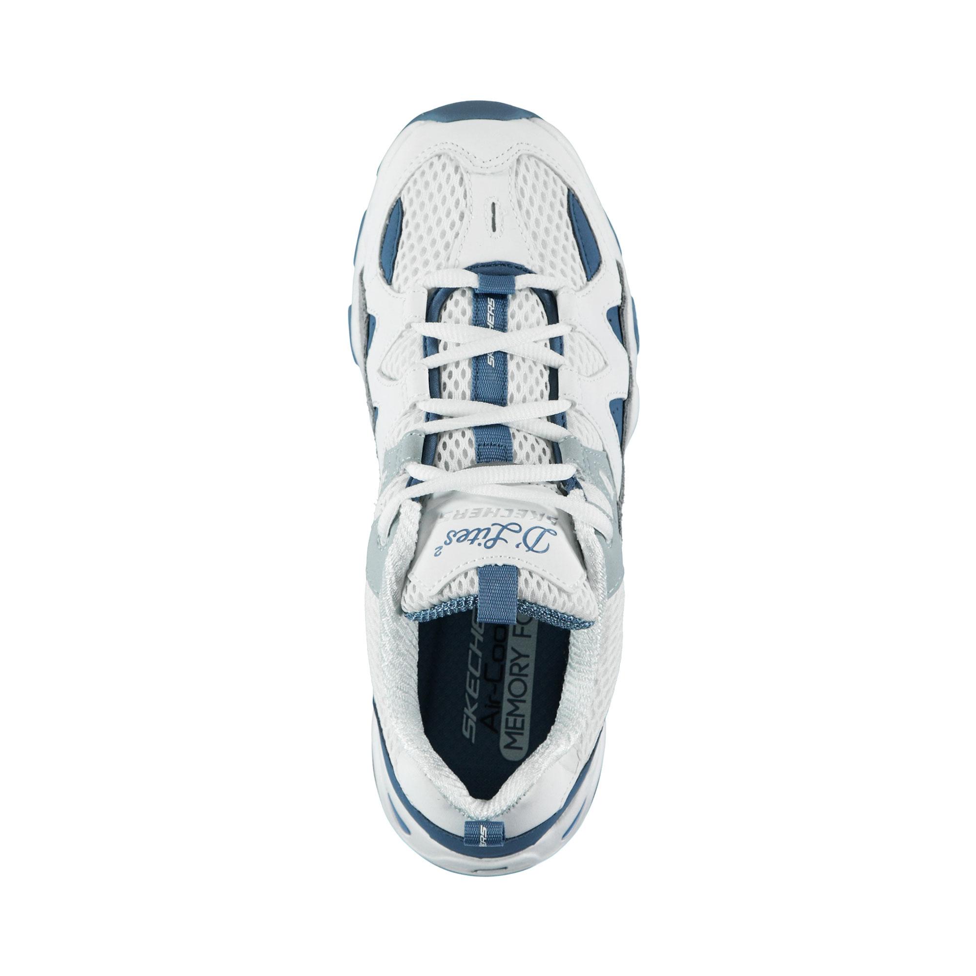 Skechers D'Lites 2- Top Down Kadın Gri-Mavi Spor Ayakkabı