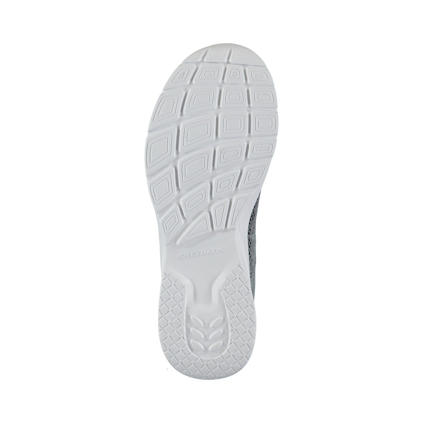 Skechers Dynamight 2.0-Homespun Kadın Gri-Mor Spor Ayakkabı