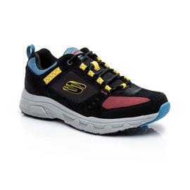 Skechers Oak Canyon Erkek Siyah-Sarı Spor Ayakkabı