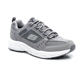 Skechers Oak Canyon Erkek Gri-Beyaz Spor Ayakkabı