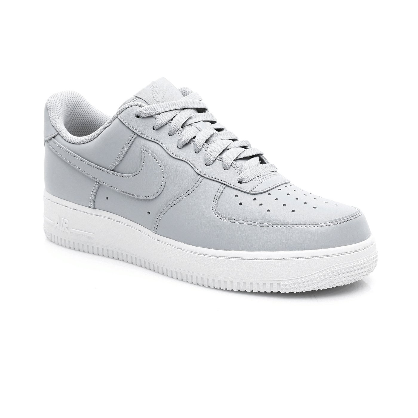 Nike Air Force 1 '07 Erkek Gri Spor Ayakkabı