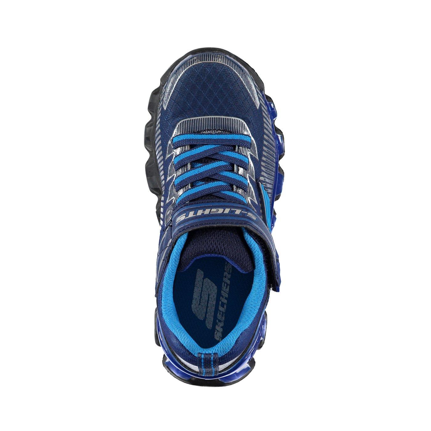Skechers Flashpod- Scoria Erkek Çocuk Lacivert-Mavi Spor Ayakkabı