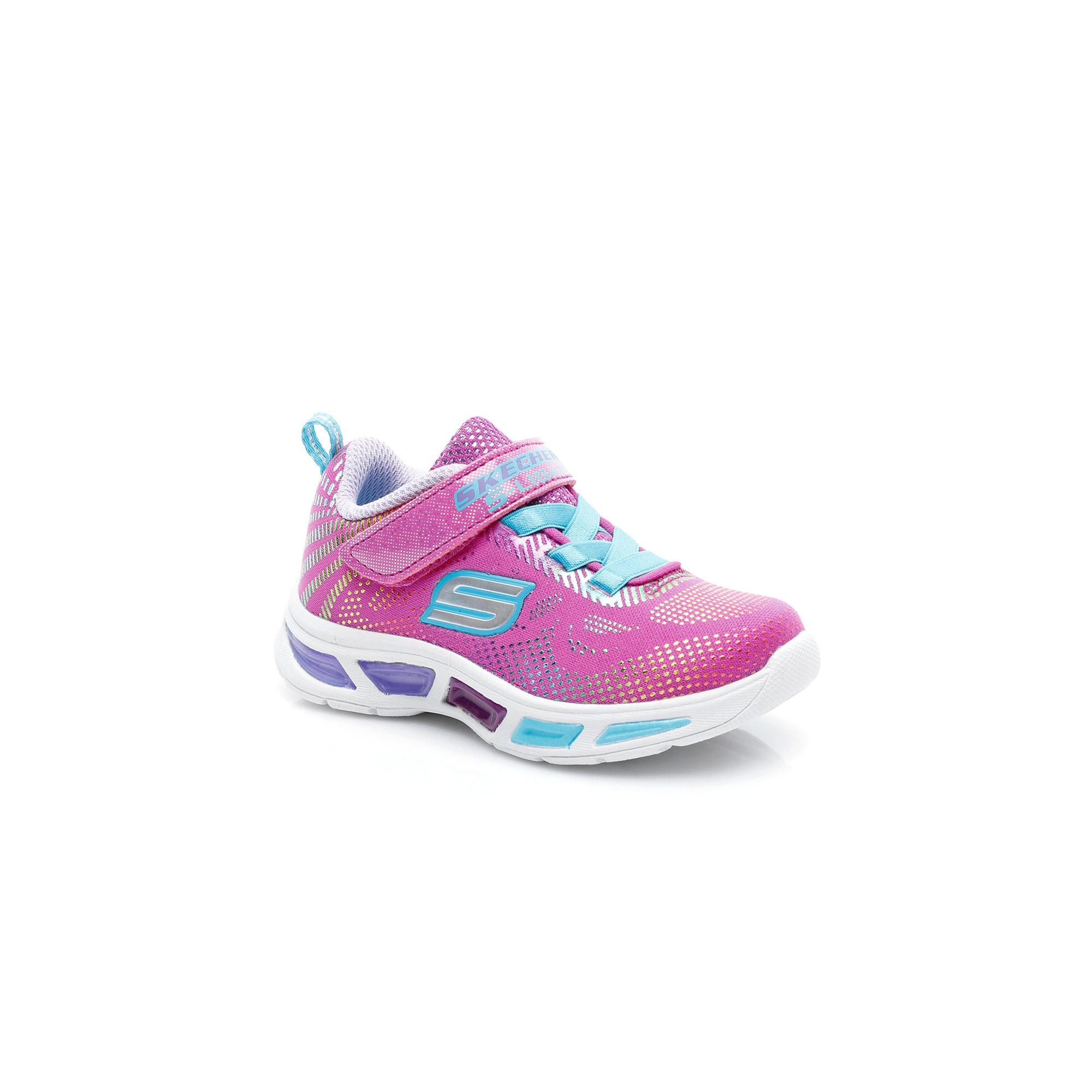 Skechers Lıtebeams-Gleam N'Dream Kız Çocuk Pembe-Çoklu Spor Ayakkabı