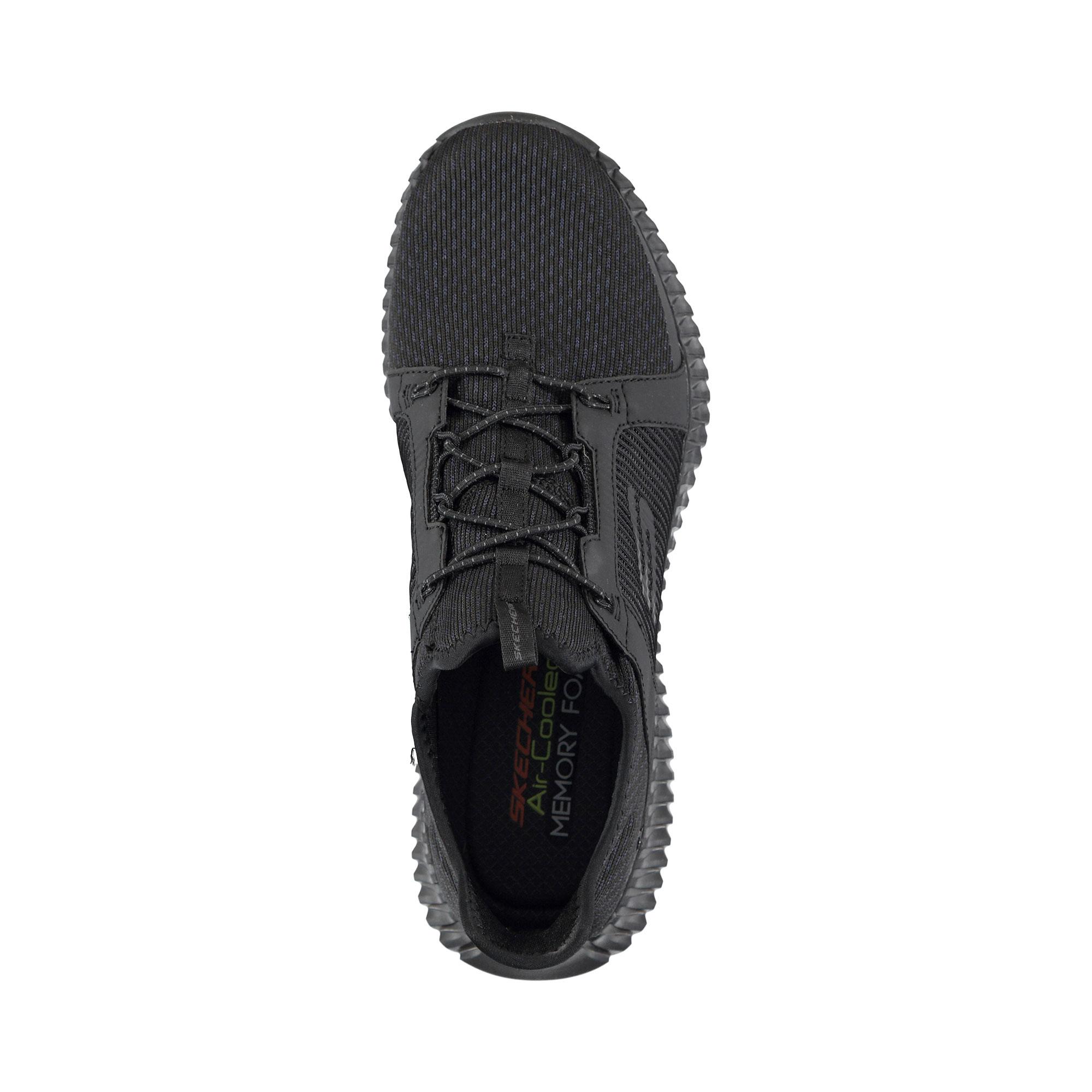 Skechers Elite Flex Erkek Siyah Spor Ayakkabı