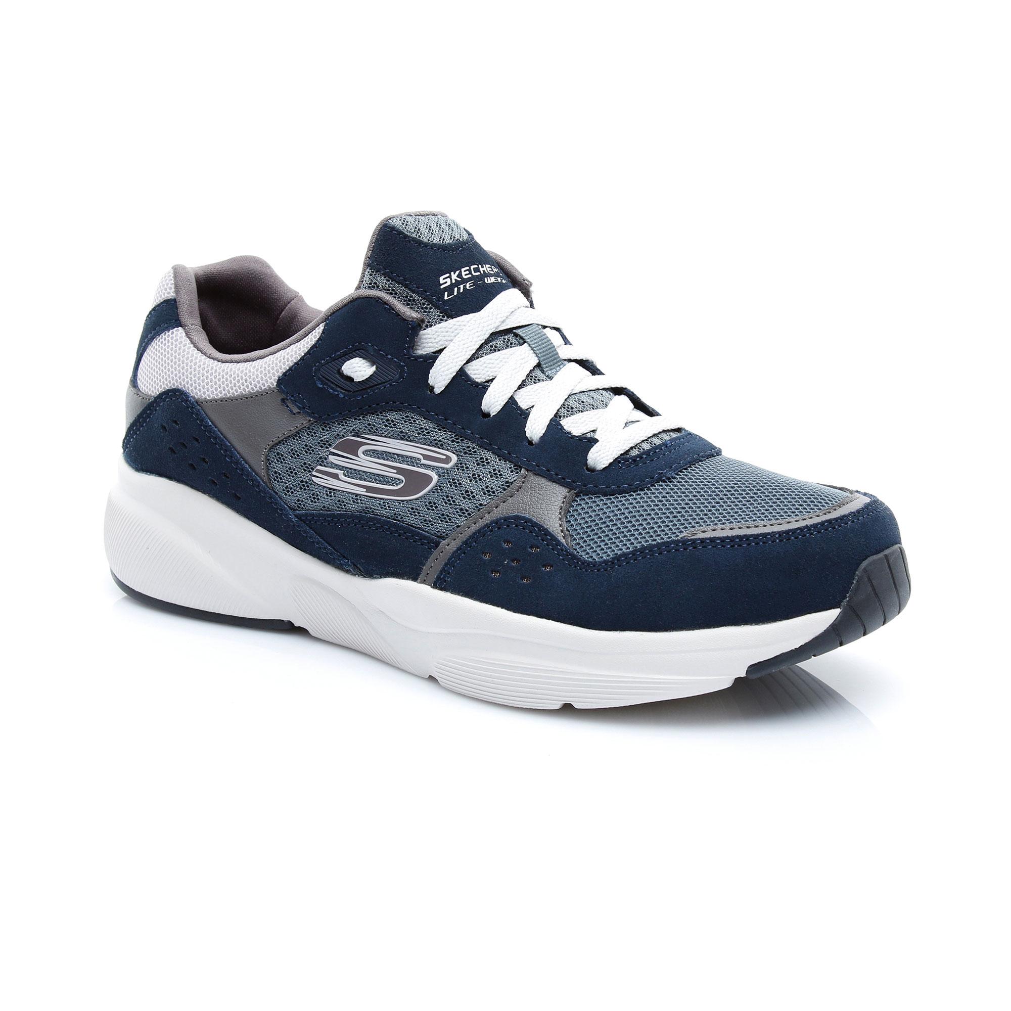 Skechers Meridian- Ostwall Erkek Lacivert-Mavi Spor Ayakkabı