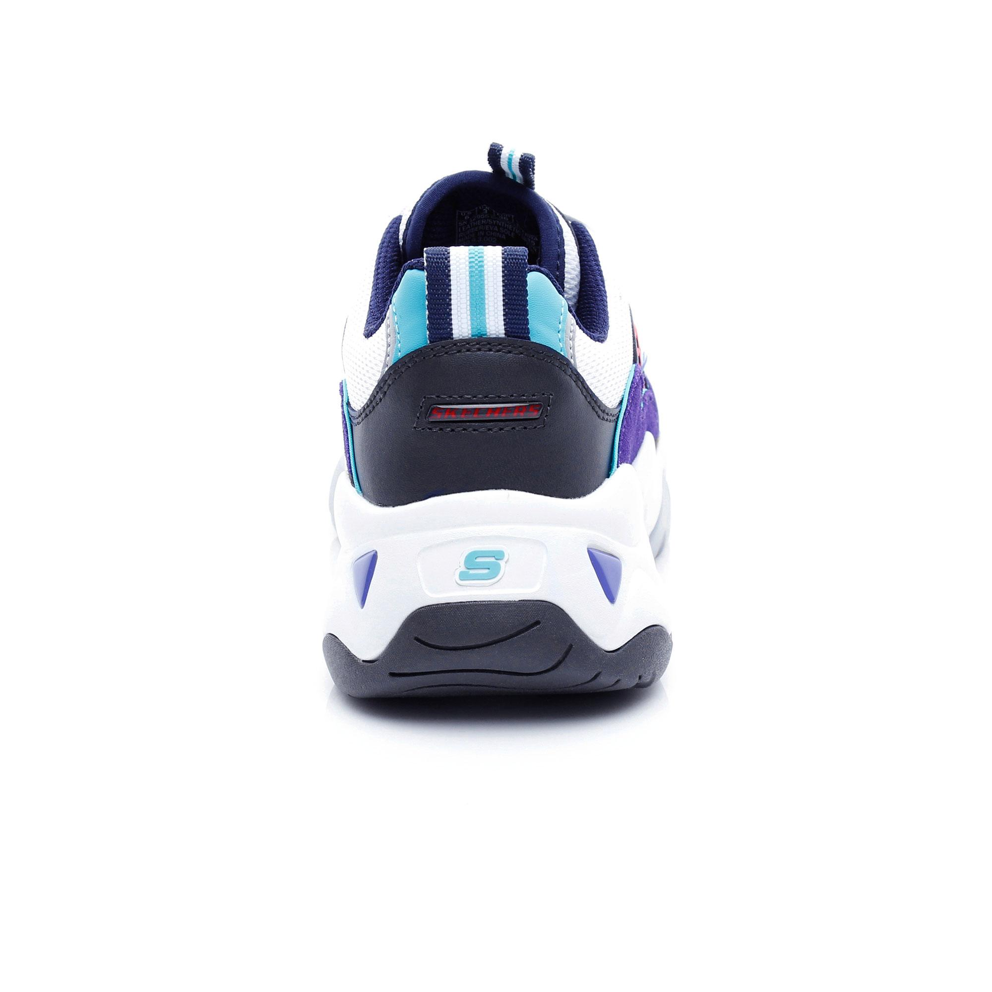 Skechers D'Lites 3.0 Zenway Kadın Lacivert Mor Spor Ayakkabı