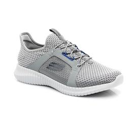 Skechers Elite Flex Erkek Gri-Mavi Spor Ayakkabı