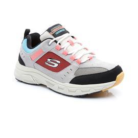Skechers Oak Canyon Erkek Gri-Siyah Spor Ayakkabı