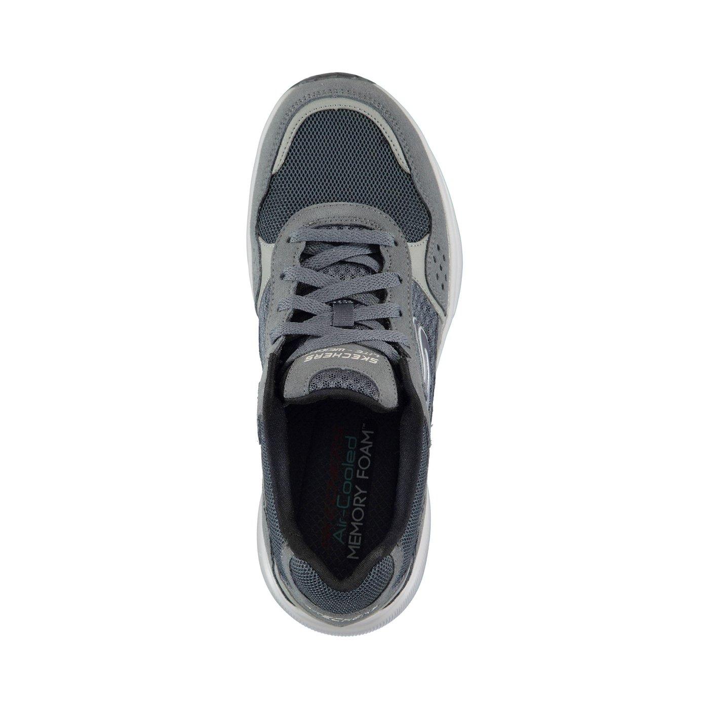 Skechers Meridian- Ostwall Erkek Gri Spor Ayakkabı