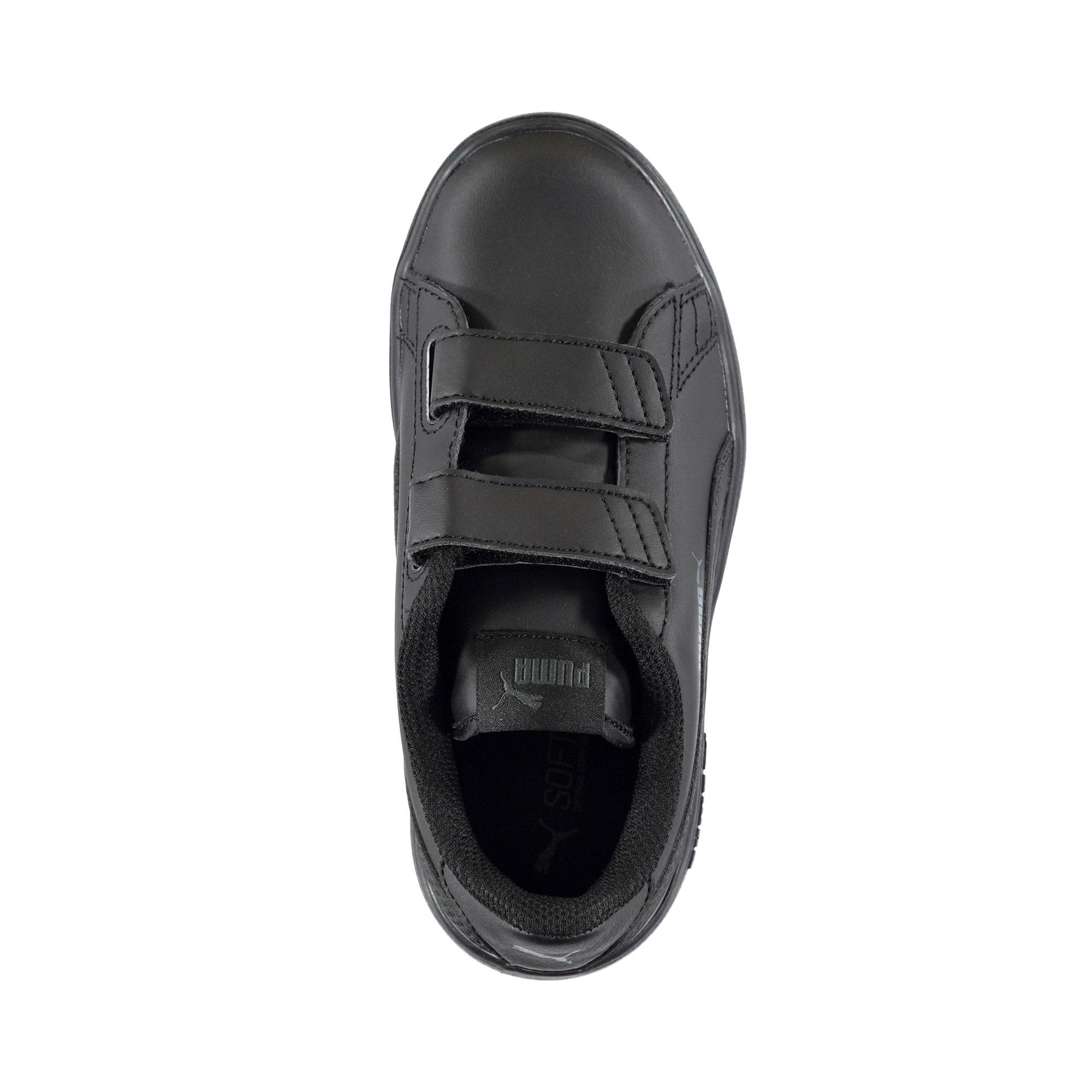 Puma Smash V2 Çocuk Siyah Spor Ayakkabı