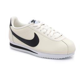 Nike Classic Cortez Leather Kadın Krem Spor Ayakkabı