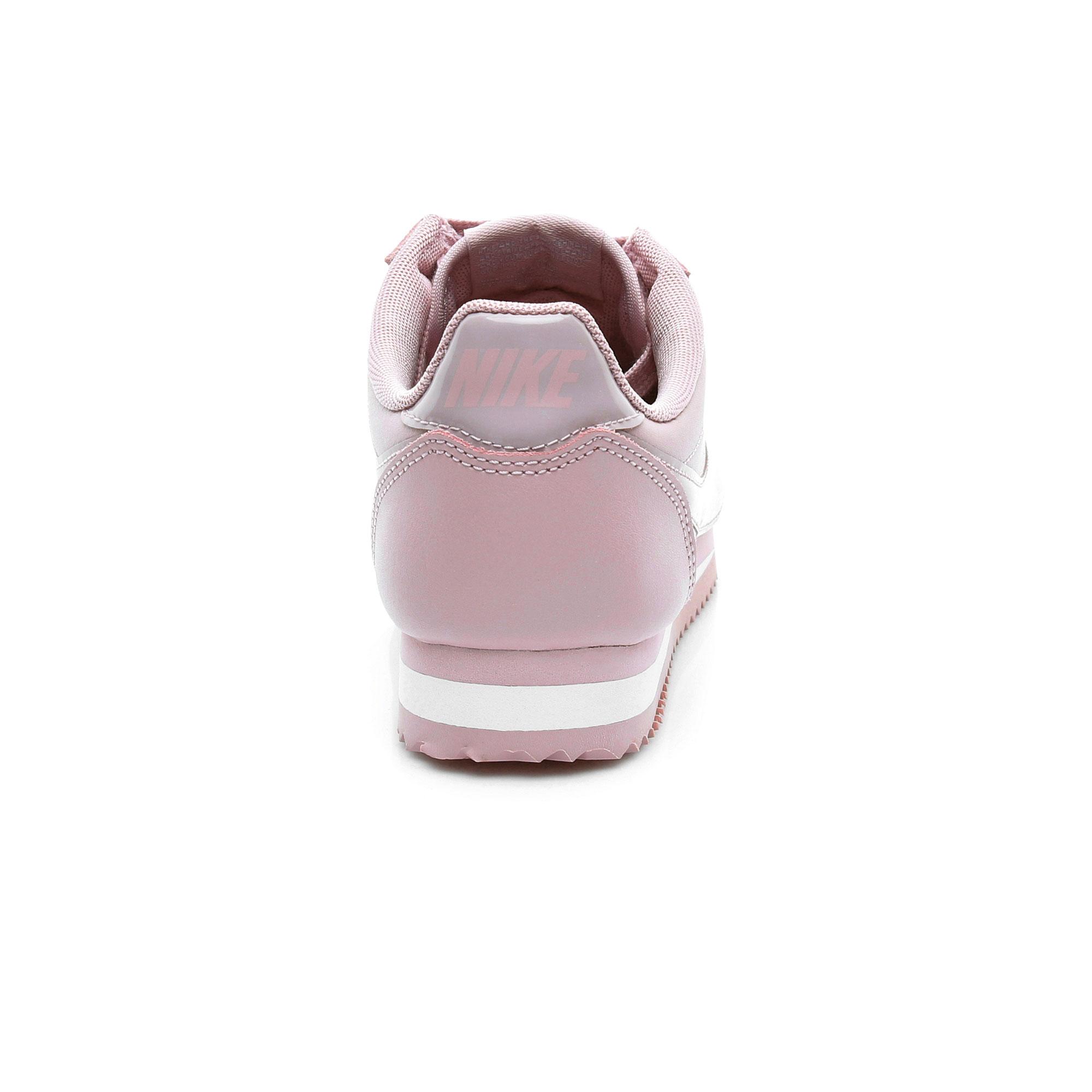 Nike Classic Cortez Prem Kadın Pembe Spor Ayakkabı