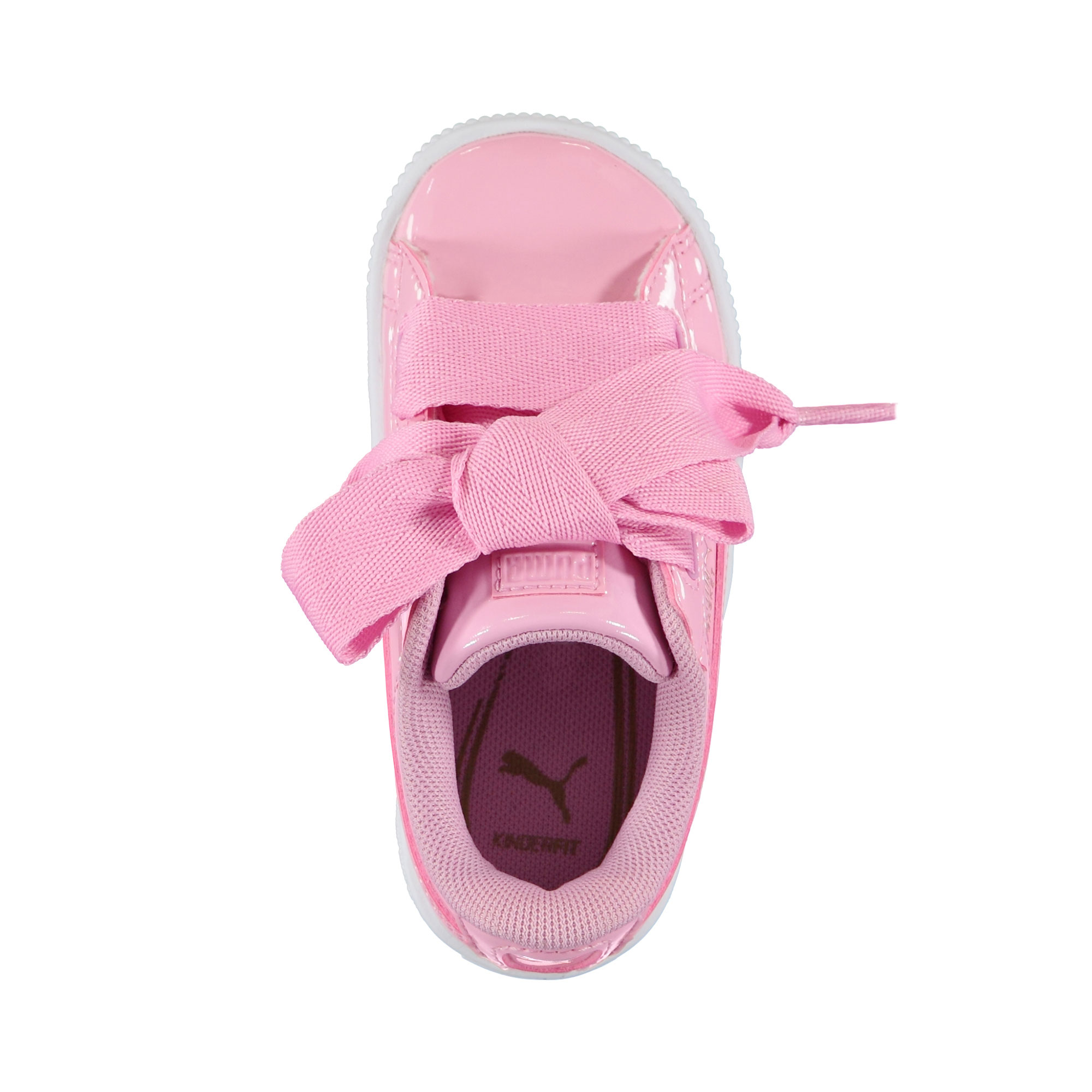 Puma Basket Heart Patent Inf Çocuk Pembe Spor Ayakkabı