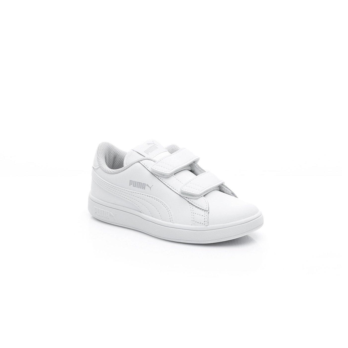 Puma Smash Çocuk Beyaz Spor Ayakkabı