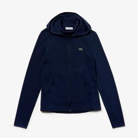 Lacoste Sport Kadın Kapüşonlu Lacivert Sweatshirt