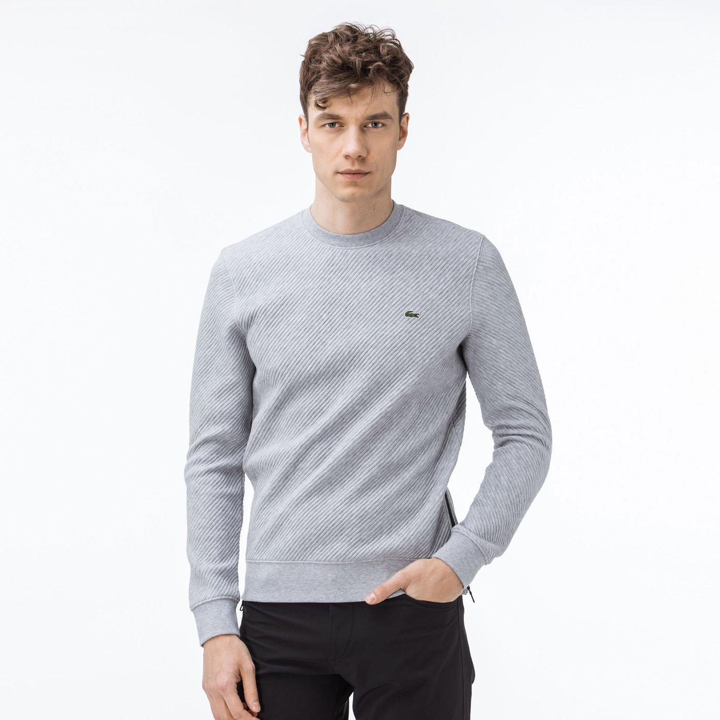 Lacoste Erkek Gri Sweatshirt