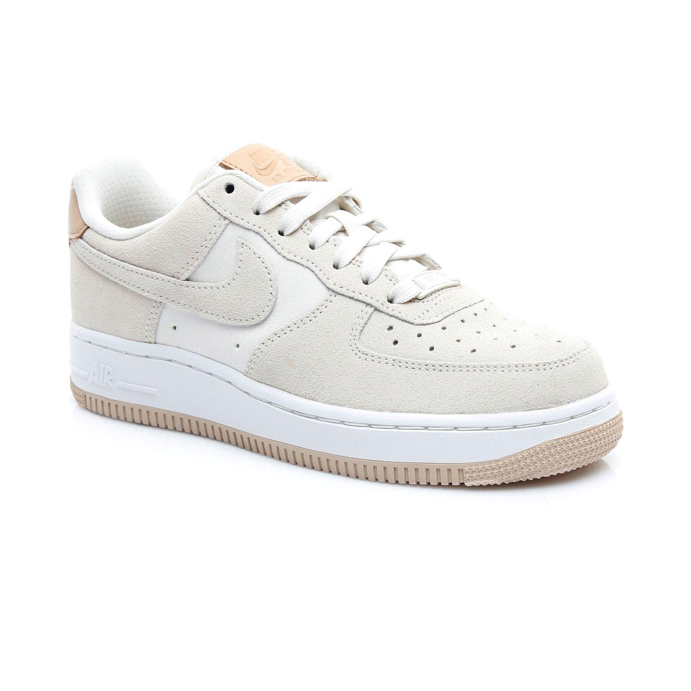 Nike Wmns Air Force 1 '07 Prm Kadın Krem Spor Ayakkabı