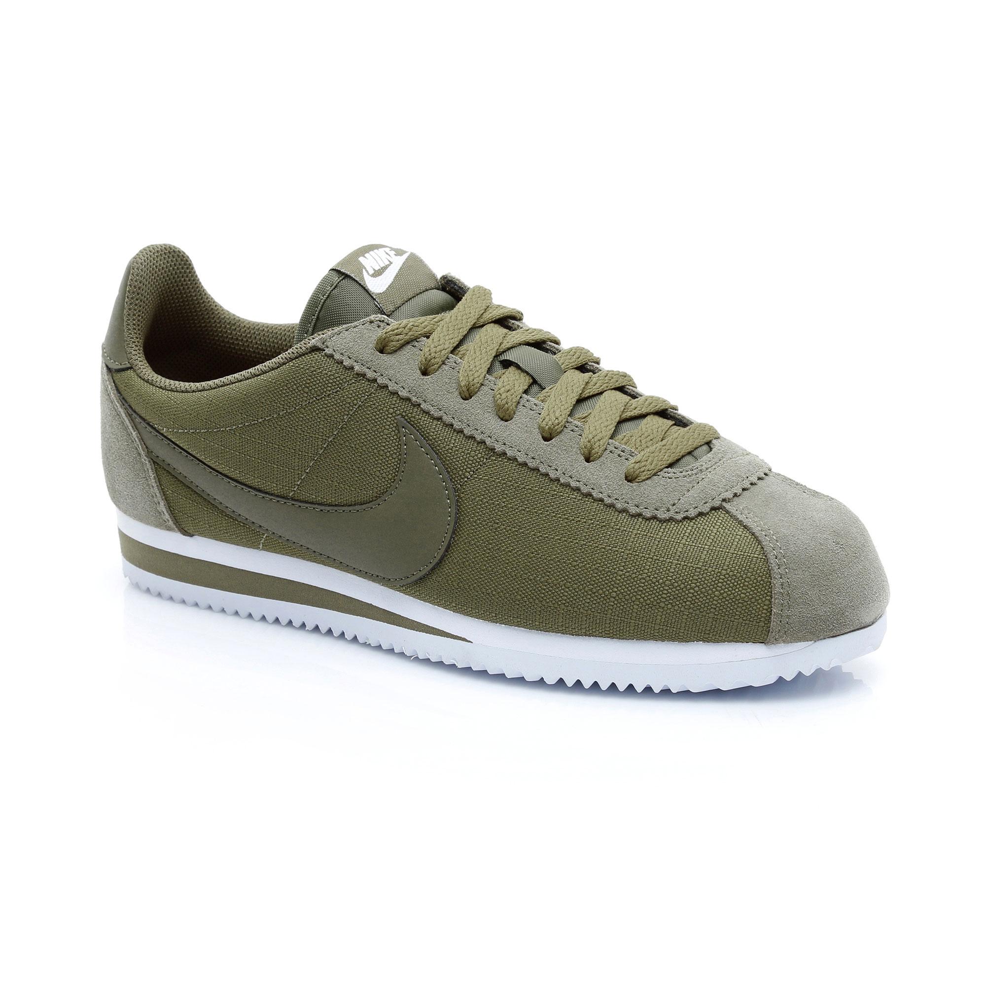 Nike Classic Cortez Nylon Erkek Yeşil Spor Ayakkabı
