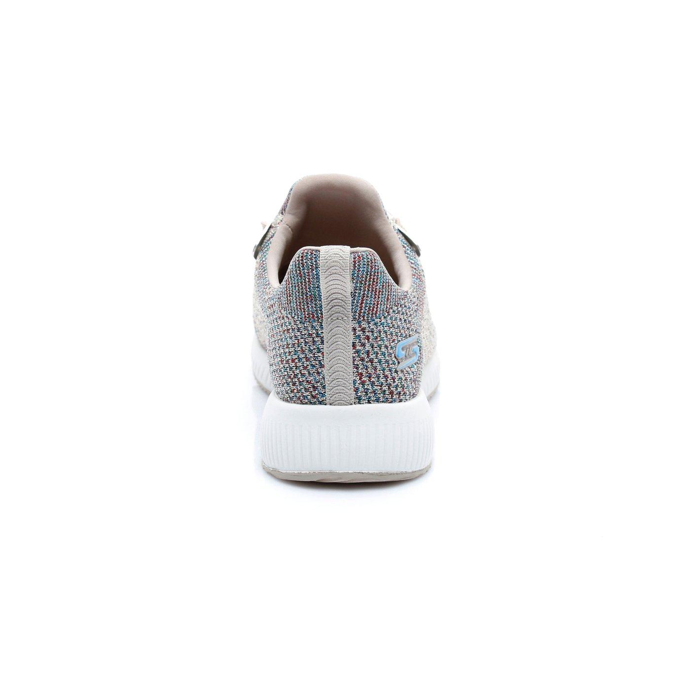 Skechers Bobs Squad - Pop Color Kadın Bej Sneaker