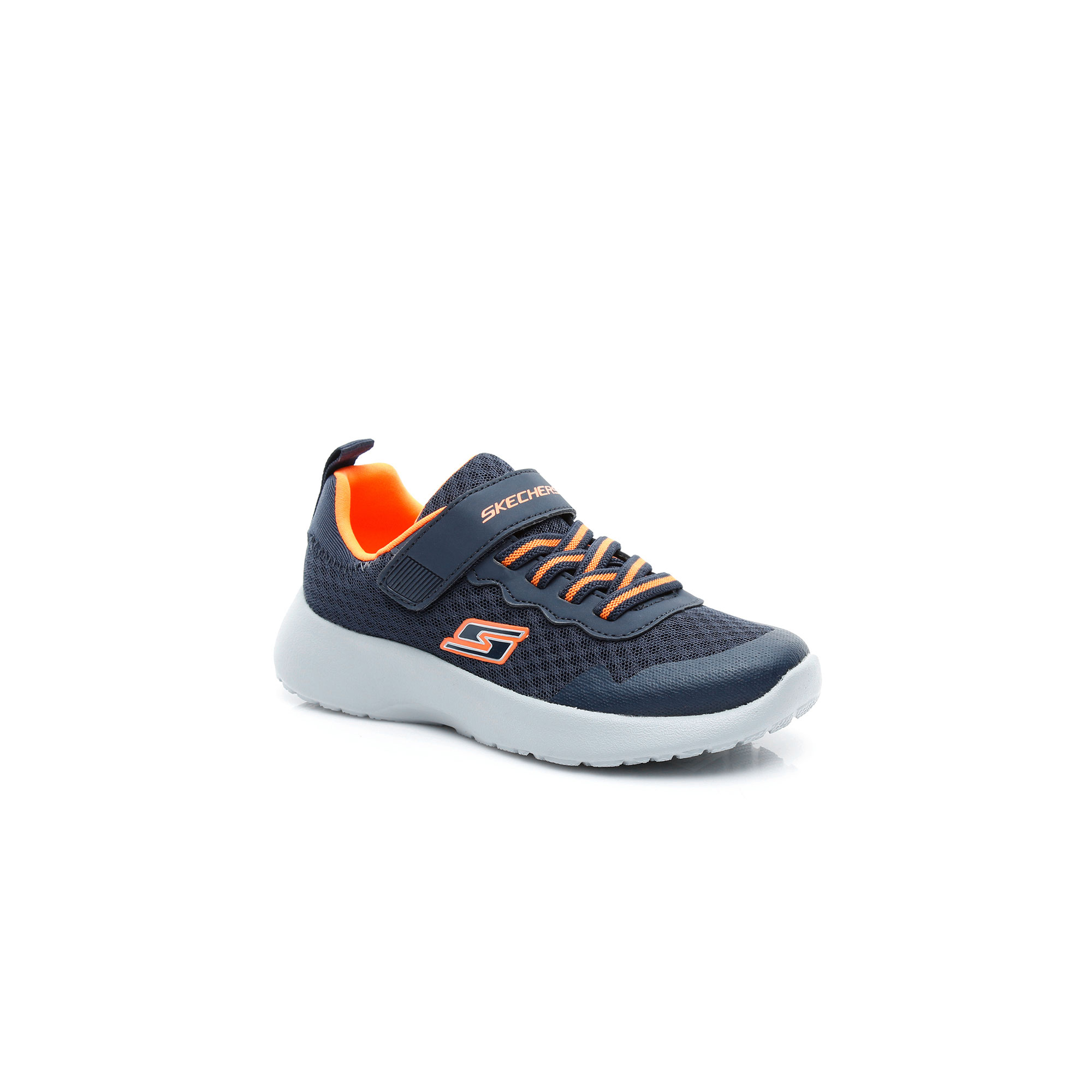 Skechers Dynamight - Hyper Torque Erkek Çocuk Lacivert-Turuncu Spor Ayakkabı