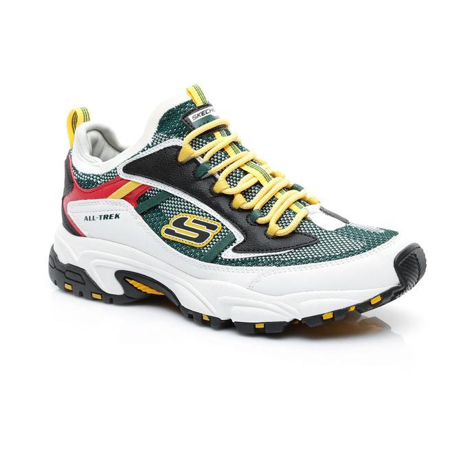 Skechers Stamina 2.0- Berendo Erkek Yeşil-Beyaz Spor Ayakkabı